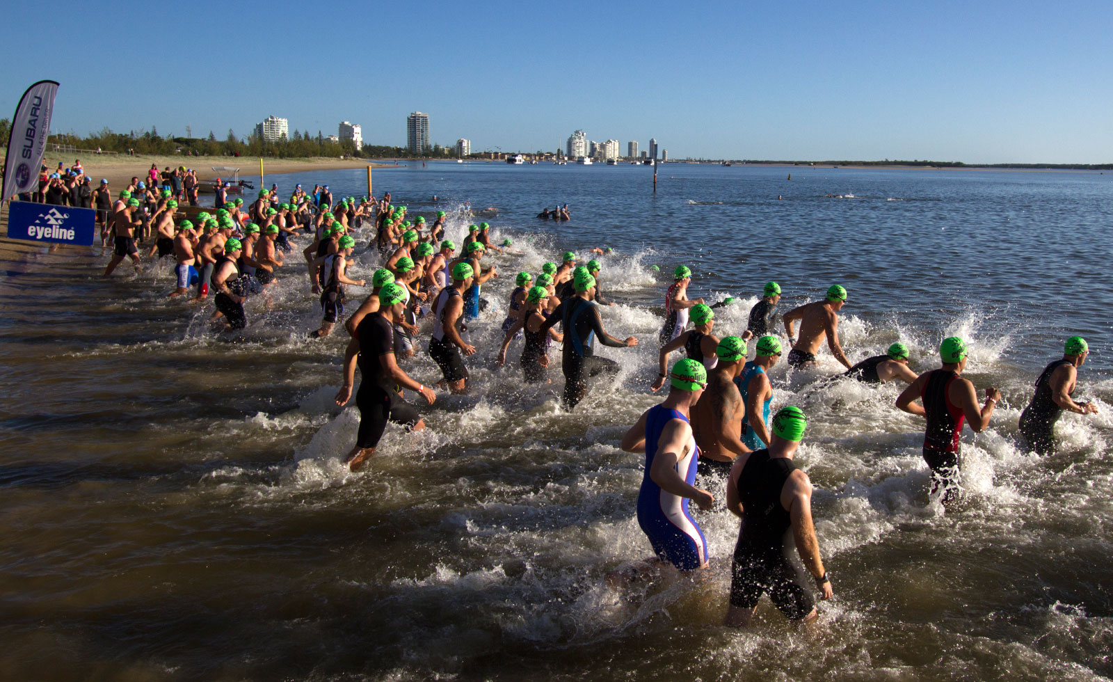 THE FAVORITES FALL AT THE GOLD COAST HALF IRONMAN