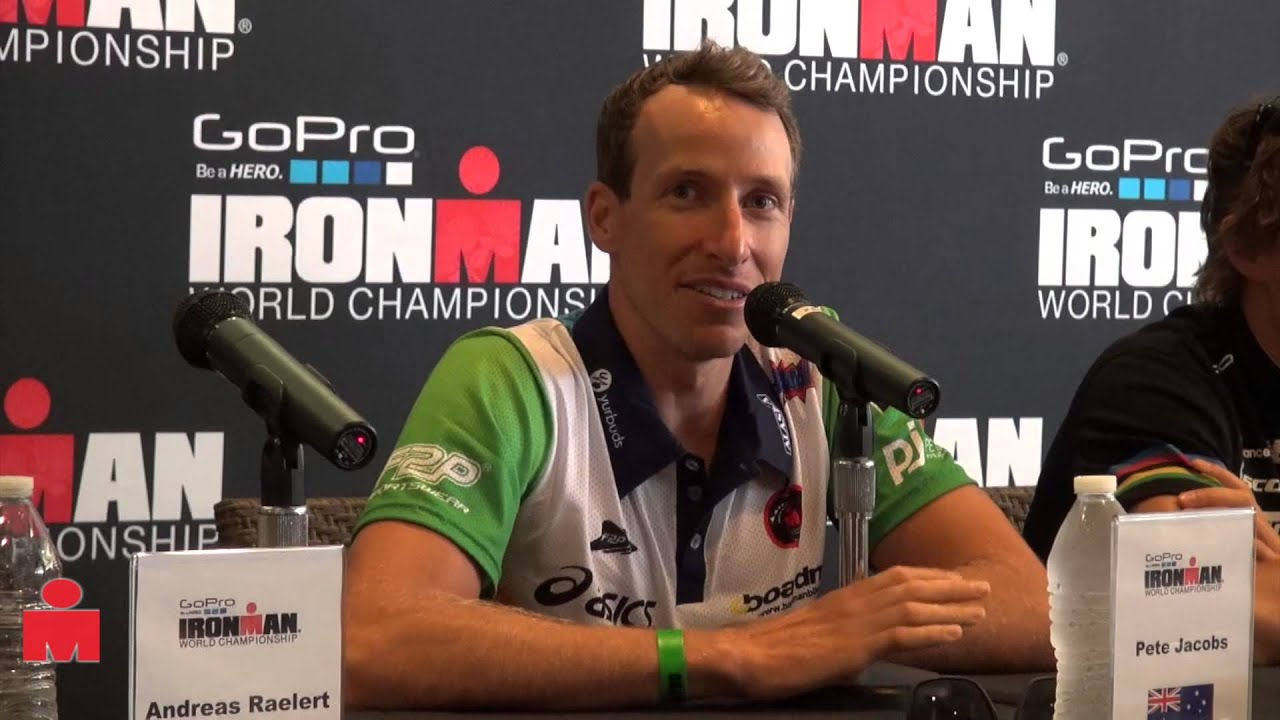 Pete Jacobs – Kona 2013 Press Conference Highlights